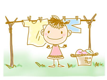 Illustration (laundry)