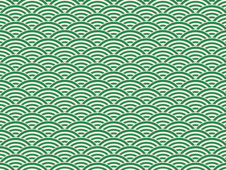 ai Japanese Pattern Qinghai Wave Pattern Swatch with Background 5