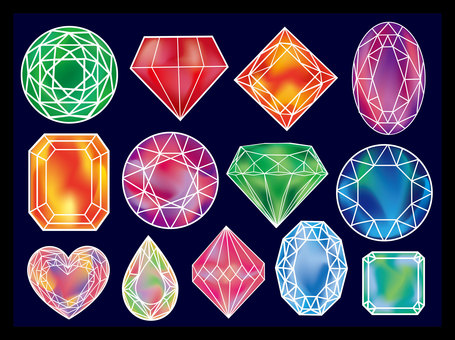 Various forms of jewelry ①