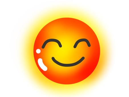 Smiley sun 5