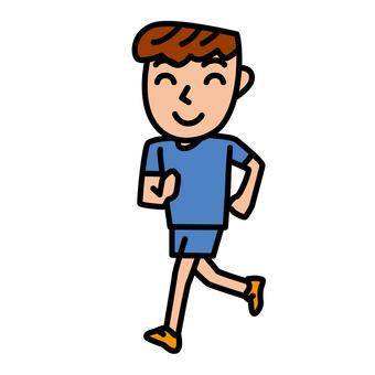 People - Running - m 03