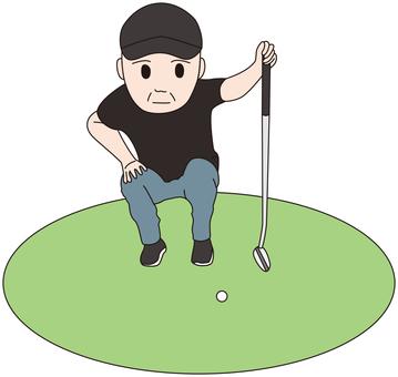 Men who play golf 2