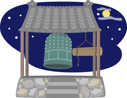 Night Bell Night background
