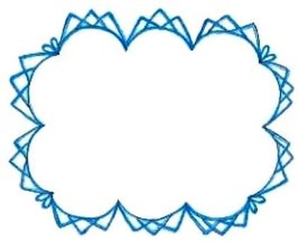 card : blue