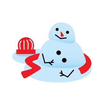 녹은 눈사람