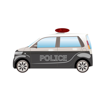 Police car 8 mini pato