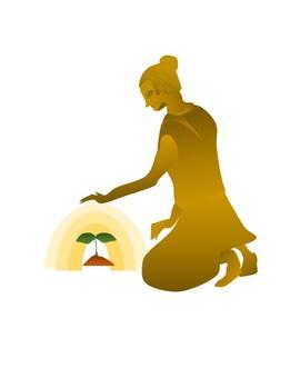 Buddha · · · · Budding of life