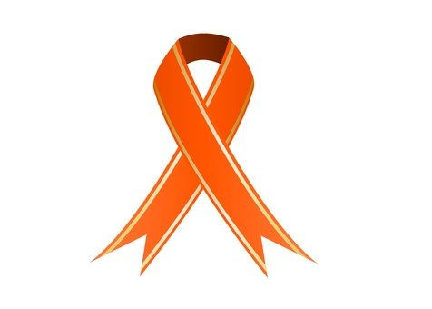Ribbon intersection with line (Orange)