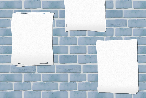 Brick wall blue (paste)