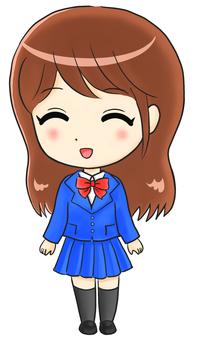 Uniform girl 3