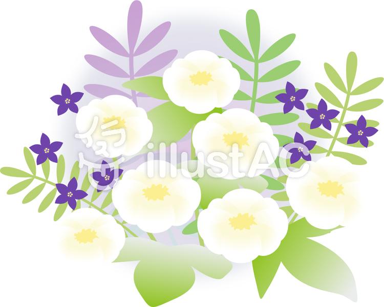 お盆のイメージの花イラスト No 843069無料イラストならイラストac
