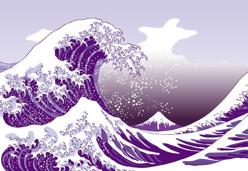 Kanagawa Okinawaversion purple version