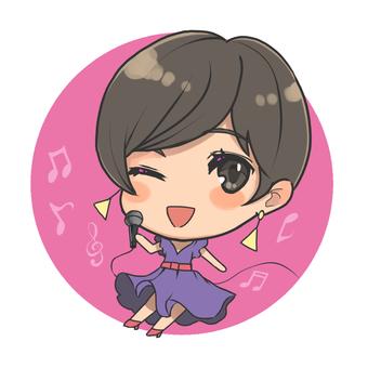 SNS Icon Singer