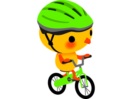 Ride a chick bicycle