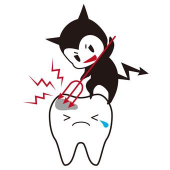 Cavities and caries