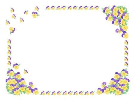 Spring !! Flower full of frames ★ 0030-F