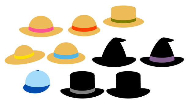 Various hat shapes