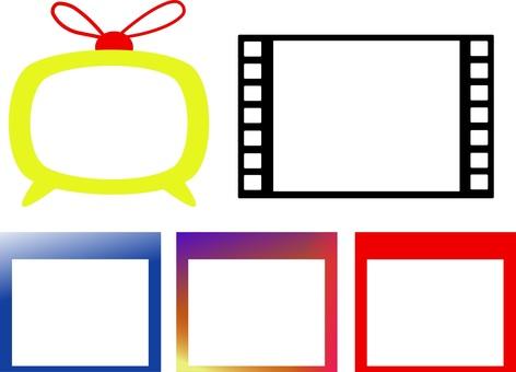 SNS style photo frame