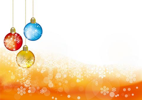 Snow Crystal Ornament ball 29