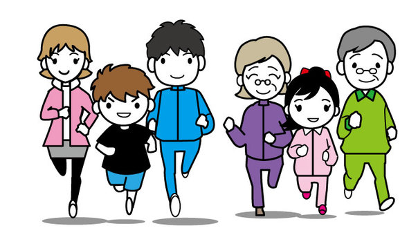 Marathon - the whole family