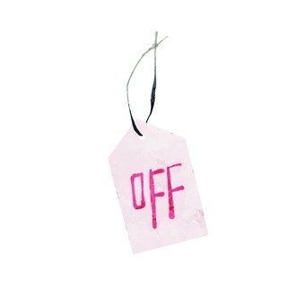 Tag of off
