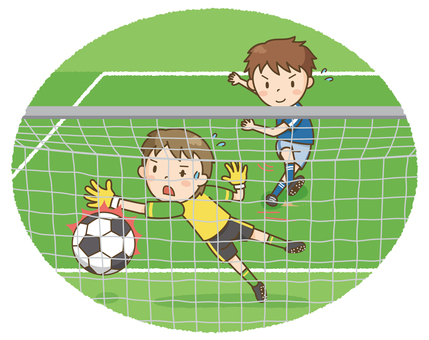 Soccer boy (shoot)