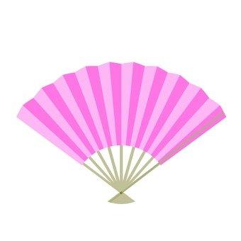 Fan (peach)