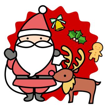 Santa material -4