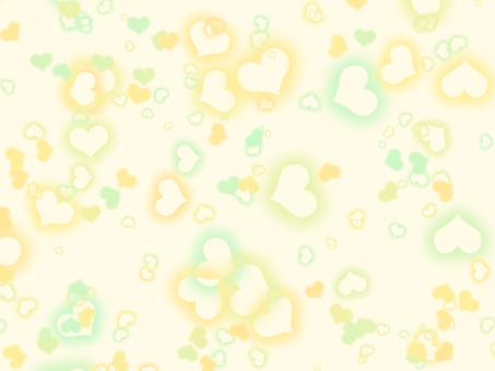 Heart scatter background