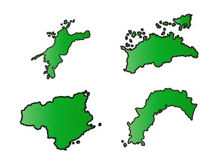 四国地方セット