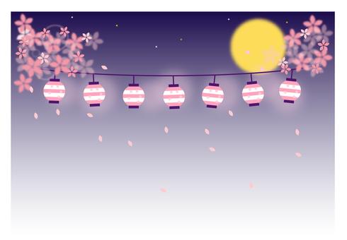 Cherry at night
