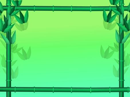 Bamboo frame ①