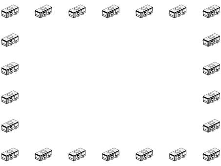 Bus frame (monochrome)