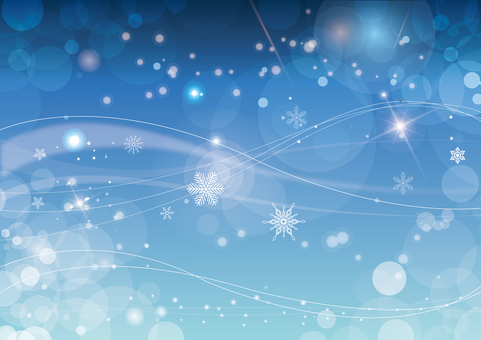Sparkling background material Snow