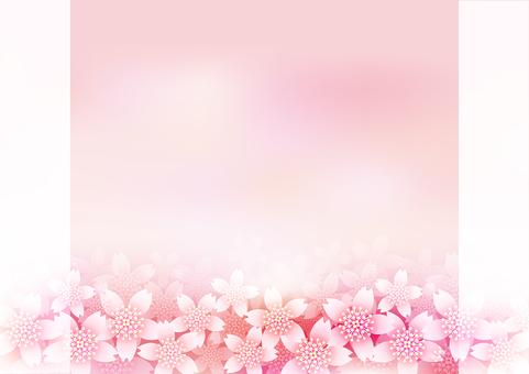 Cherry Blossoms & Frame 10