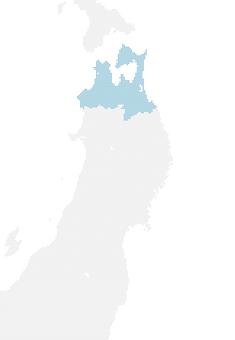Dot map Aomori 1