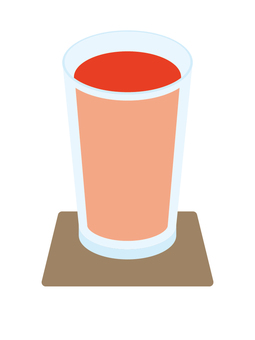 Cold drink Tomato juice