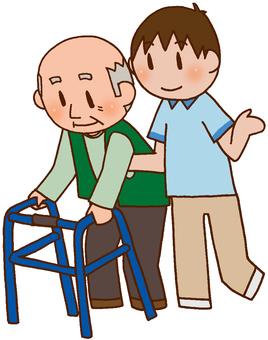 【Rehabilitation】 walker / gait training