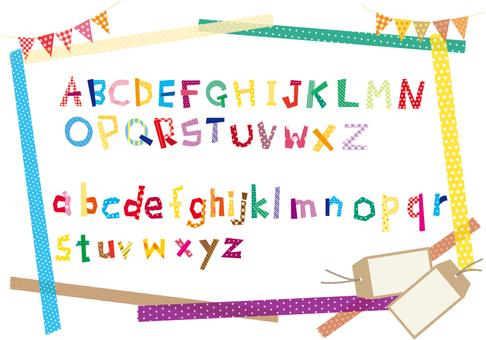 Alphabet material