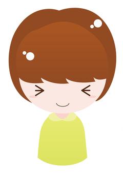 Girl 1 (happy)