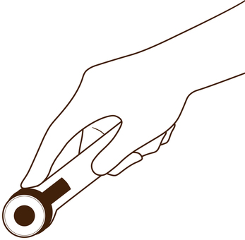Use rotary cutter_line