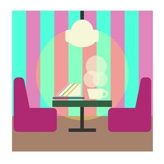 三明治和咖啡 - 咖啡廳