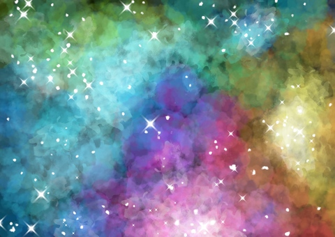 The color of the universe