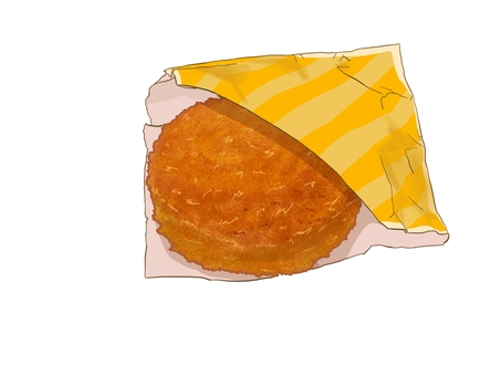 Curry bread (bag)