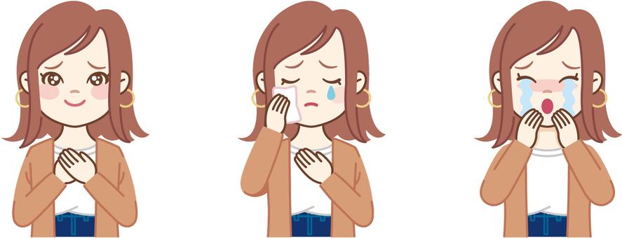 Bob Woman_Crying face (upper body)