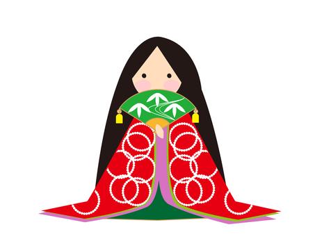 Kaguya Hime red handle