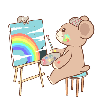 Bear and art