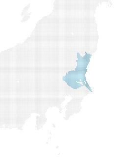 Dot Map Ibaraki 1