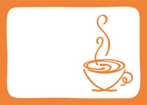 Tea cup frame