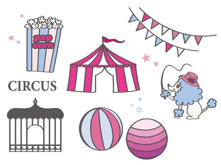 Circus motif